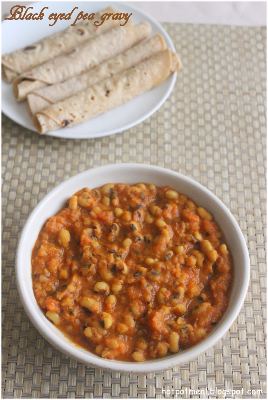 Hot Pot Cooking Black Eyed Pea Gravy