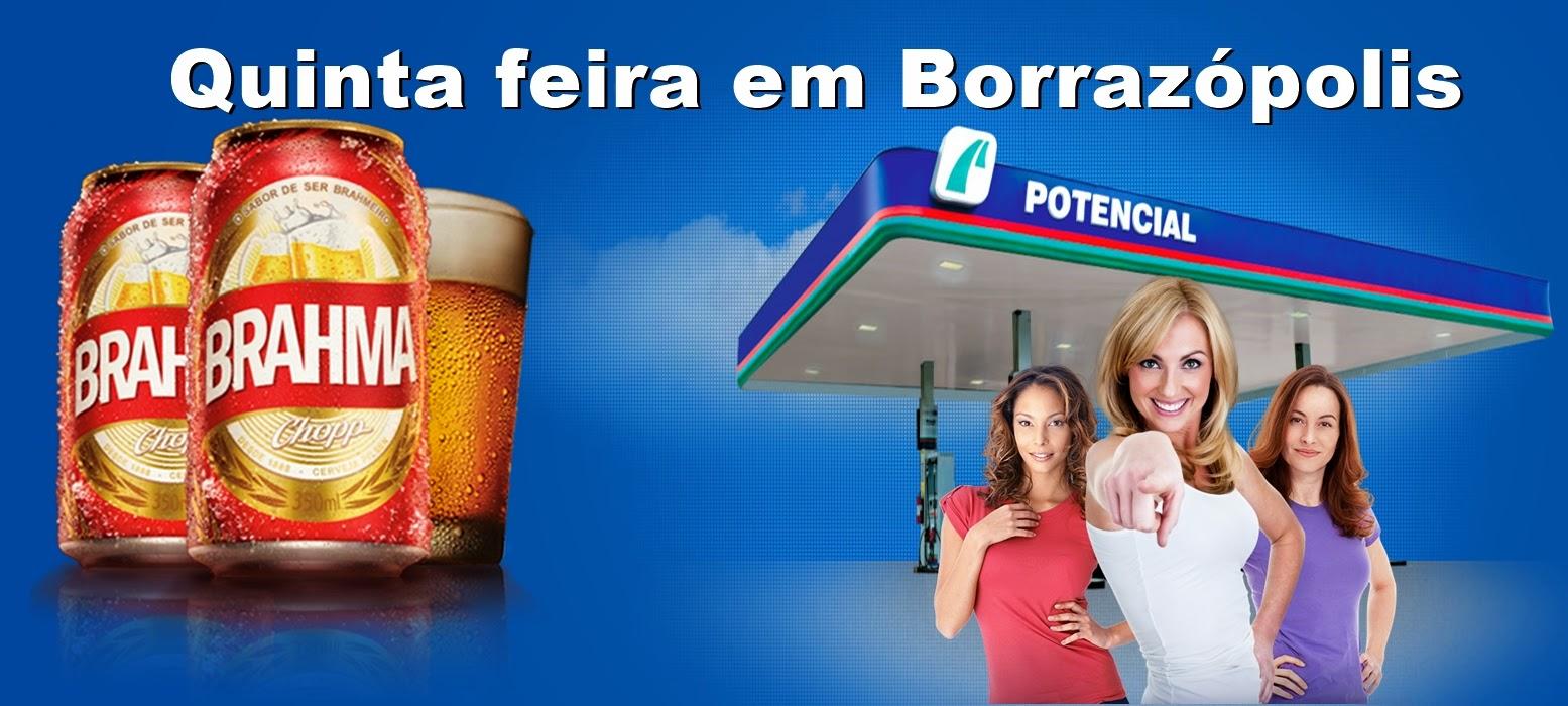 POSTO POTENCIAL EM BORRAZÓPOLIS CAMINHÃO DA BRAHMA