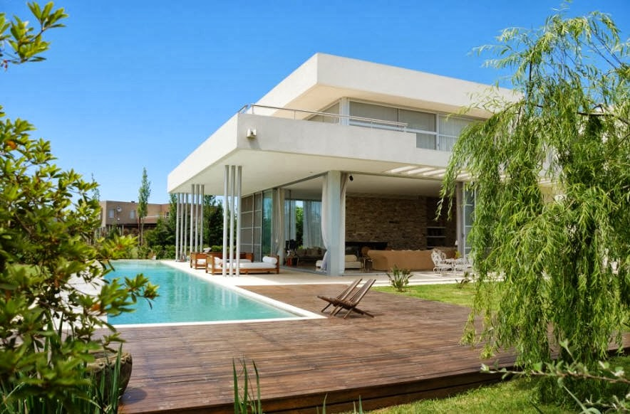 contoh bentuk rumah mewah minimalis idaman