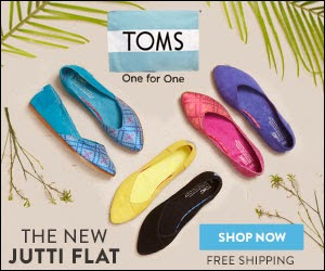 TOMS $10 off Coupon Code