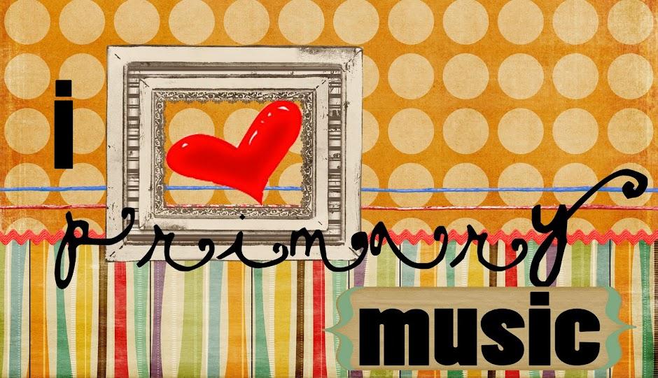 i heart primary music