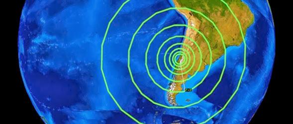 Enjambre sismico en chile