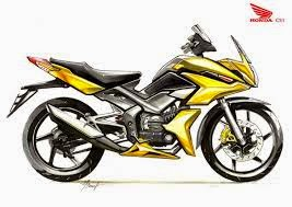 modifikasi body motor honda cs1