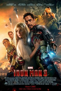 movie Iron Man 3 (2013) TS 600MB