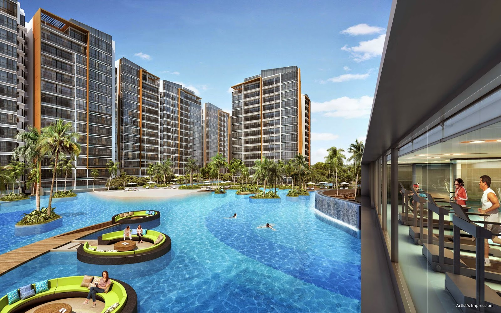 coco palms condo at Pasir Ris by CDL