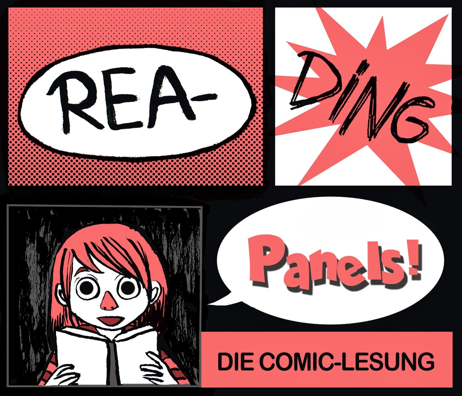 READING PANELS- DIE COMIC-LESUNG