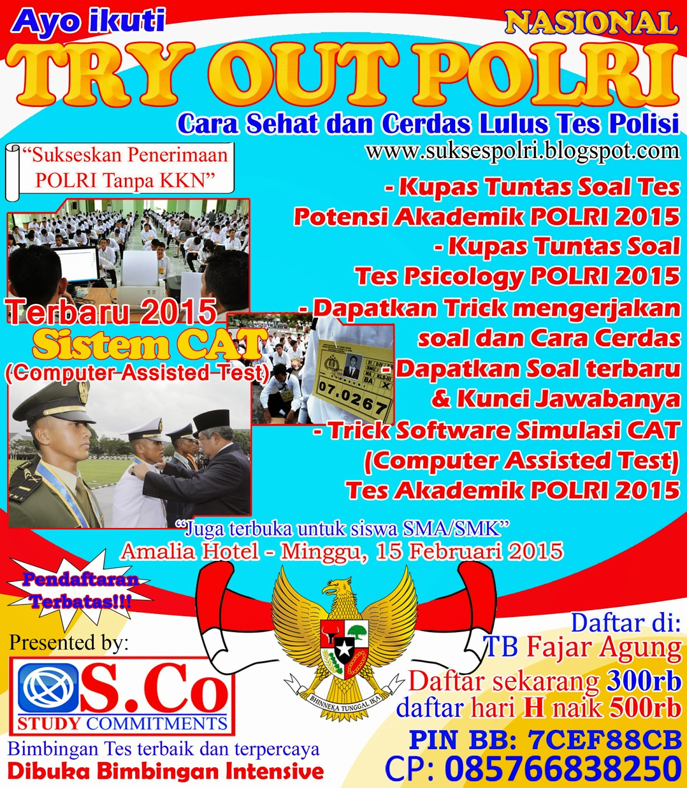 Try Out Polri Lampung