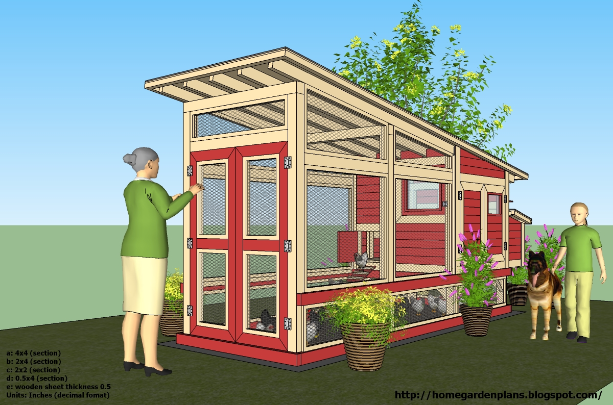 4 Chicken Coop Plans Most Popular Build Small Chicken Coop