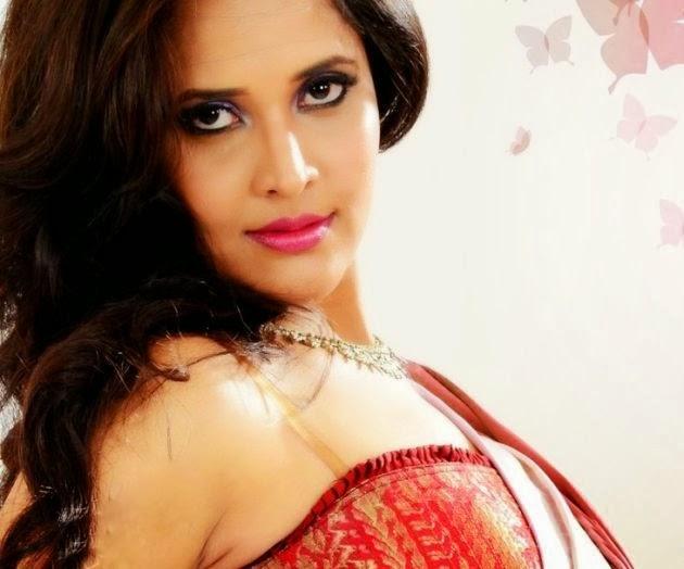 Actress Anasuya Bharadwaj Latest Hot Photoshoot Stills