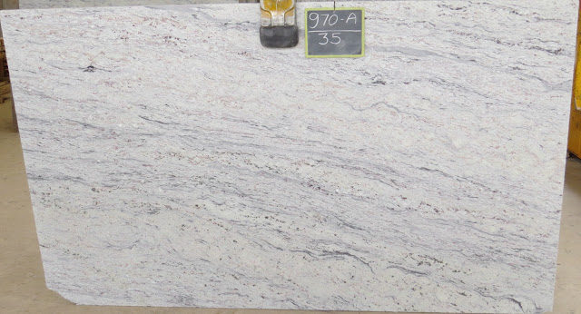 Bengal Black Granite White Granite Slabs