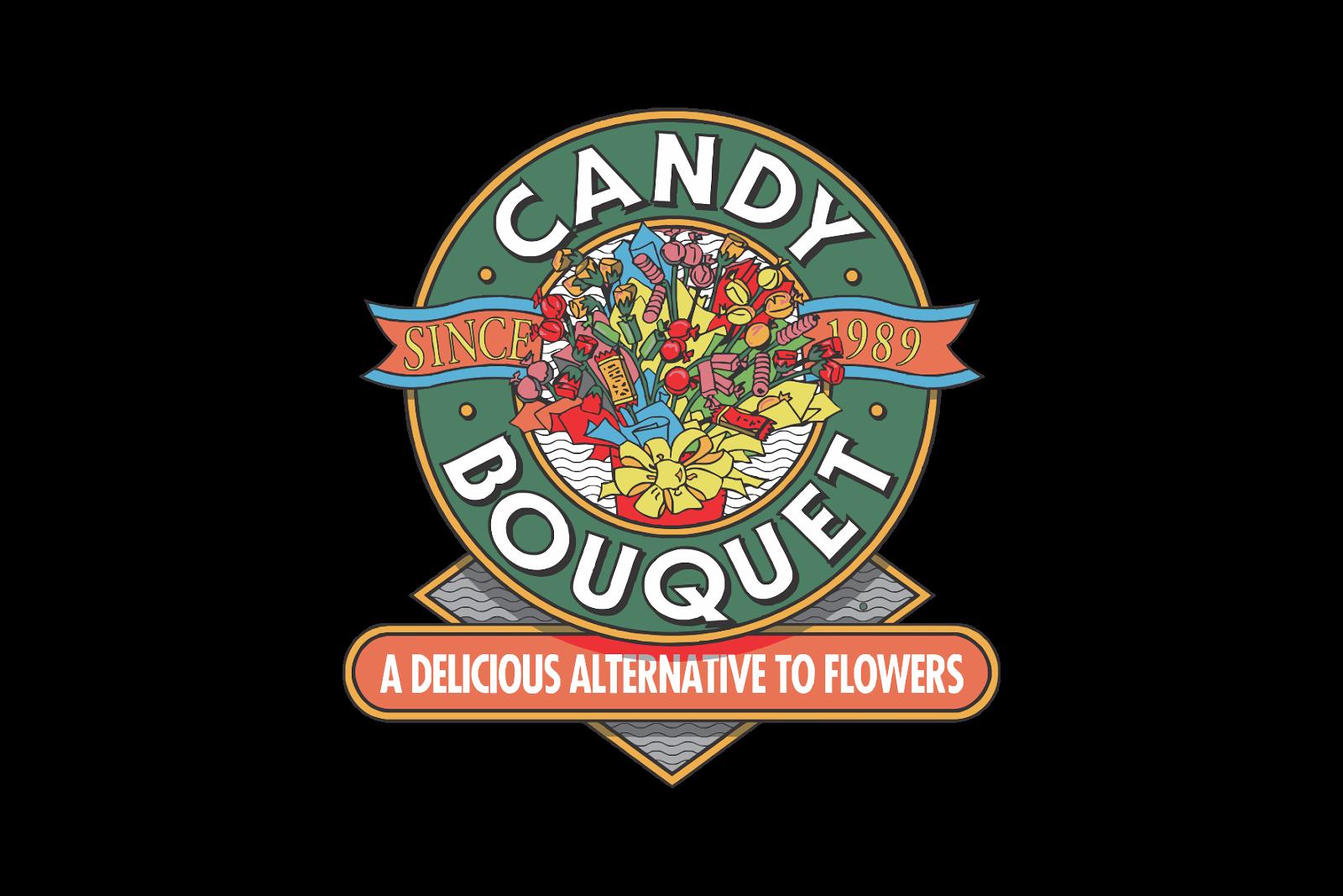 Candy Bouquet Logo, Candy Bouquet Logo vector