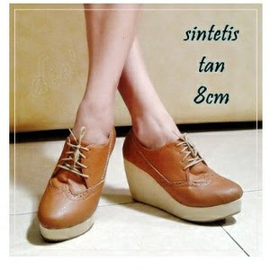 Jual wedges shoes nolly