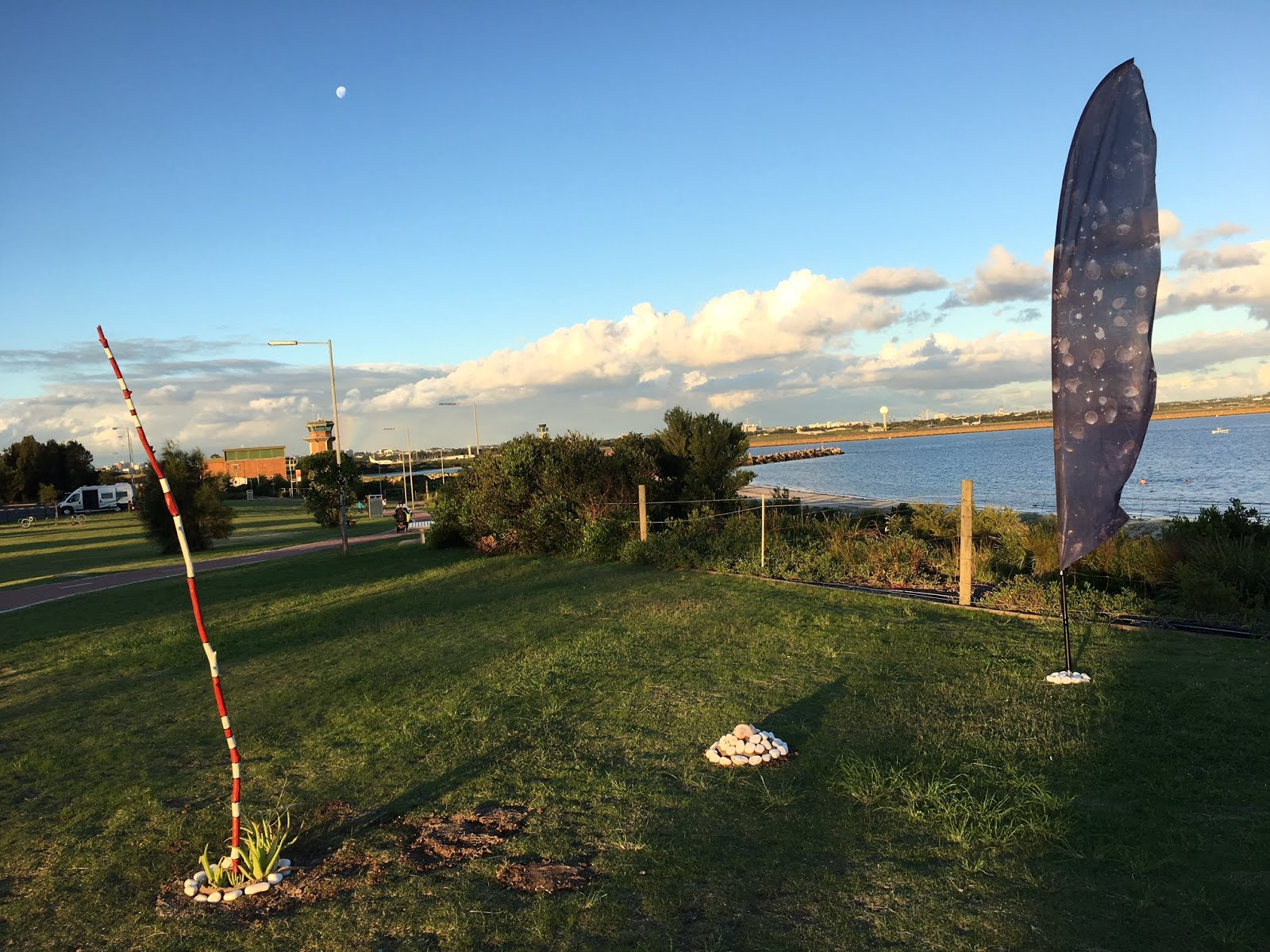 Sculptures at Bayside Art Festival 2017 in Kyeemagh
