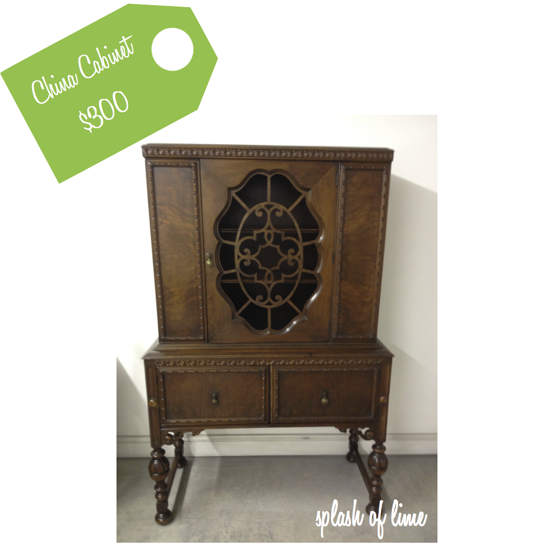 If You Love The Sweet Charm Of These Old China Cabinets, Youu0027re In Luck. We  Have One And Weu0027re Asking $300.