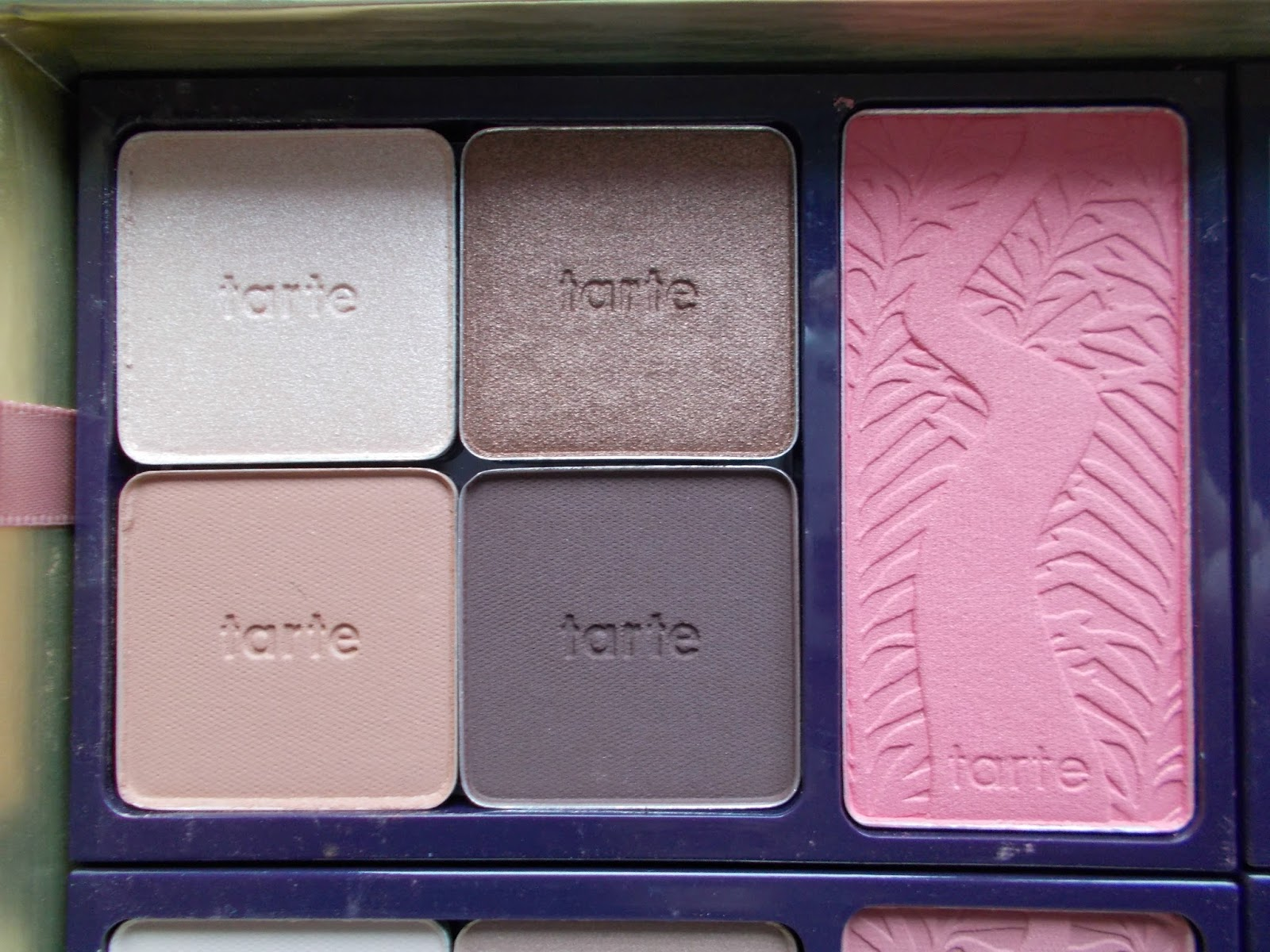 Tarte Holiday Blockbuster Collection inviting blush