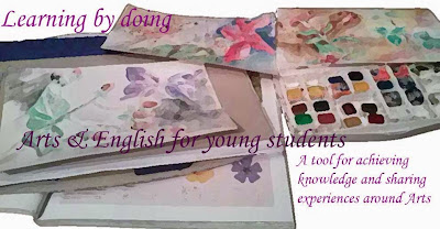 Learning by doing. Arts&English for young students