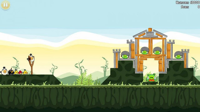 Angry Bird Screenshots 2