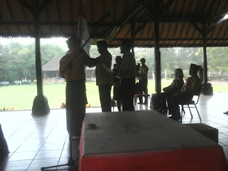 Denpasar Kwartir Cabang Denpasar lakukan Pelantikan Pramuka Gugus Depan SMK Teknologi Wira Bhakti