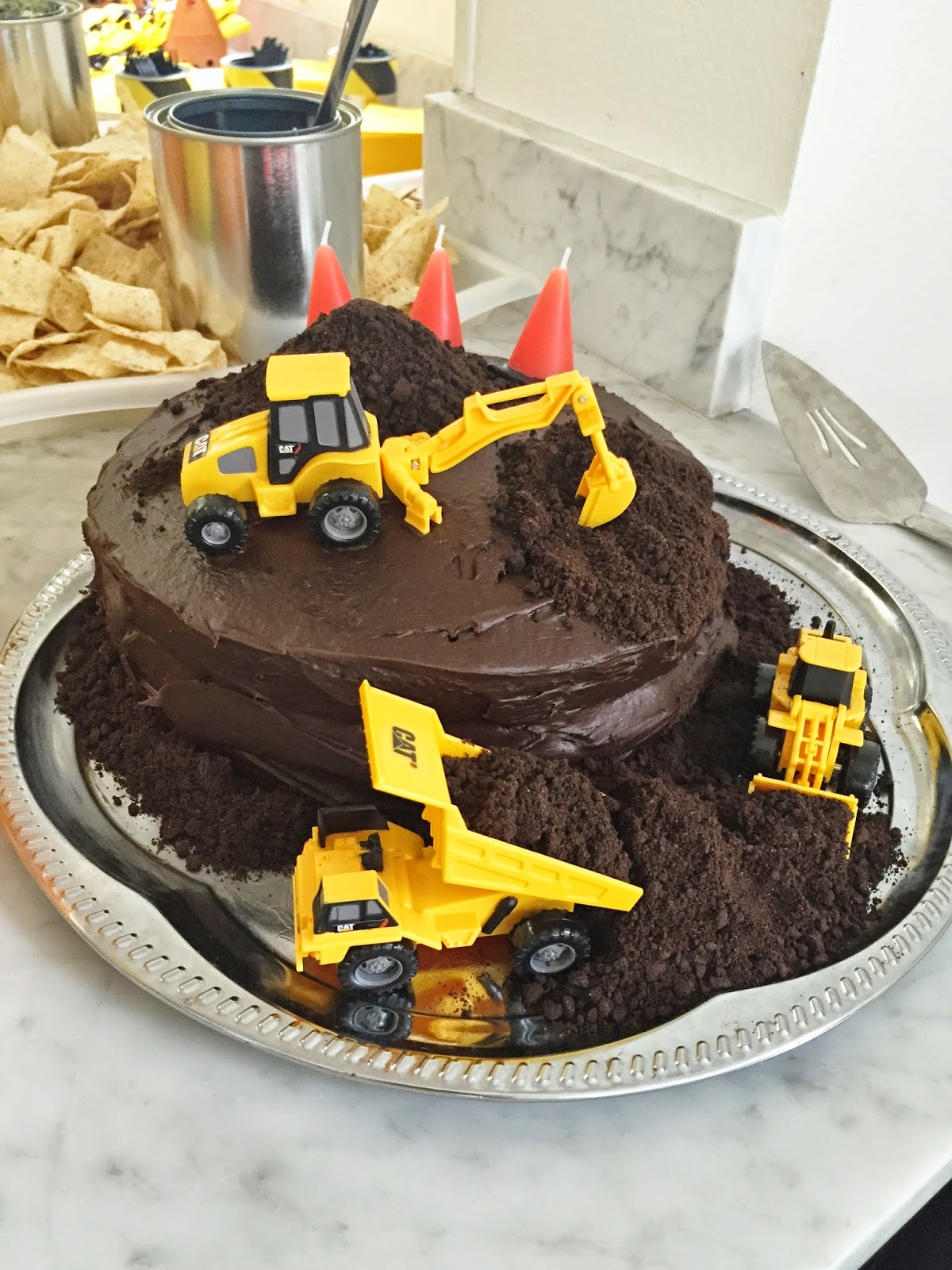 Construction Party Cake Ideas