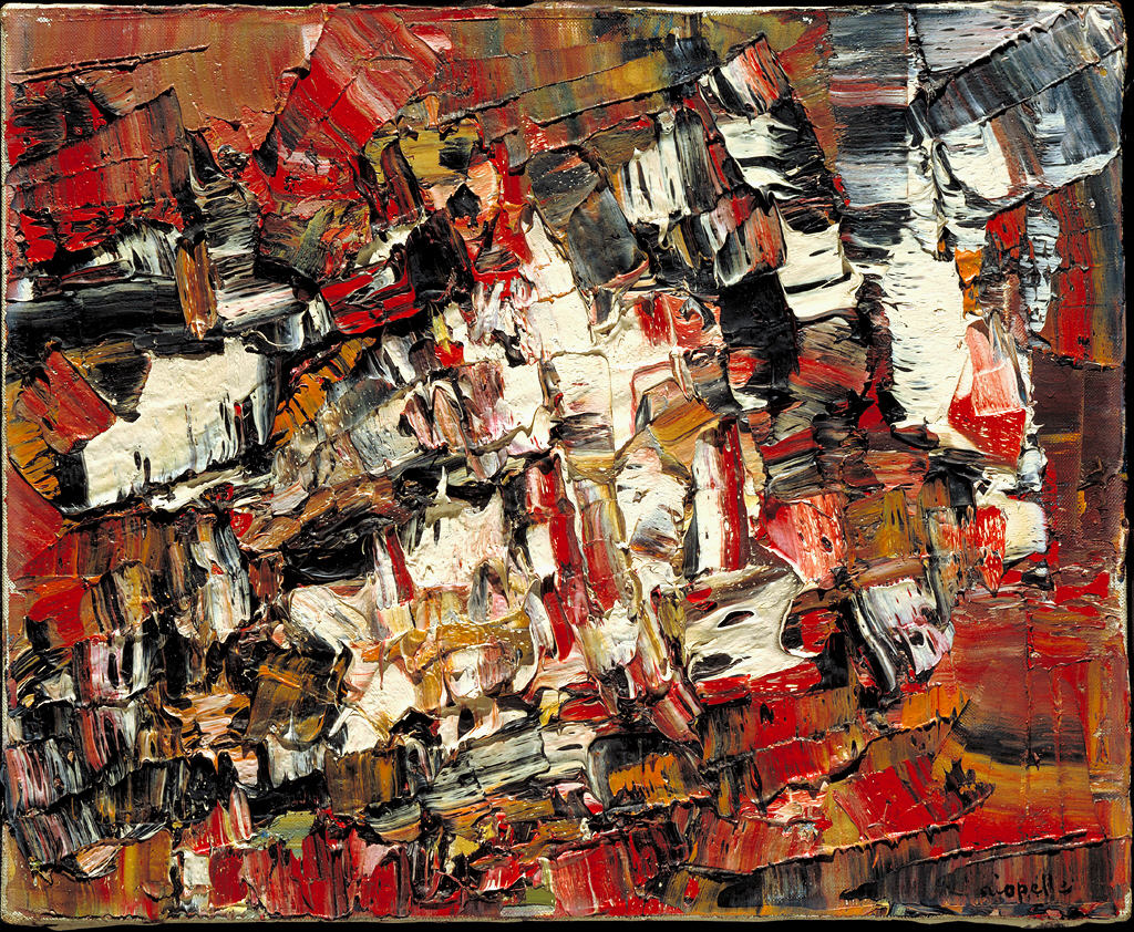 I media l 39 expressionnisme abstrait for Peintres abstraits