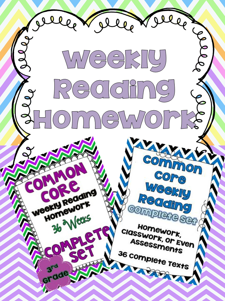 http://www.teacherspayteachers.com/Store/Jennifer-Findley/Category/Common-Core-Weekly-Reading-Homework