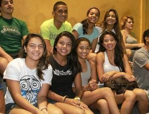 Atletas das categorias juvenis prestigiaram a final (Foto: Frank Cunha/Globoesporte.com)