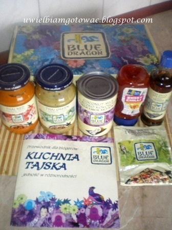 Produkty kuchni tajskiej Blue Dragon