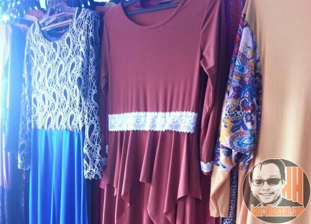 Baju cantik pasar kemboja parit buntar