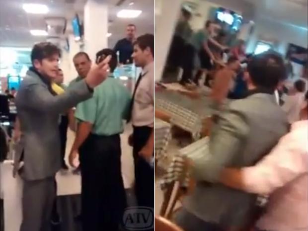 Após se envolver em uma briga em um restaurante em Campina Grande