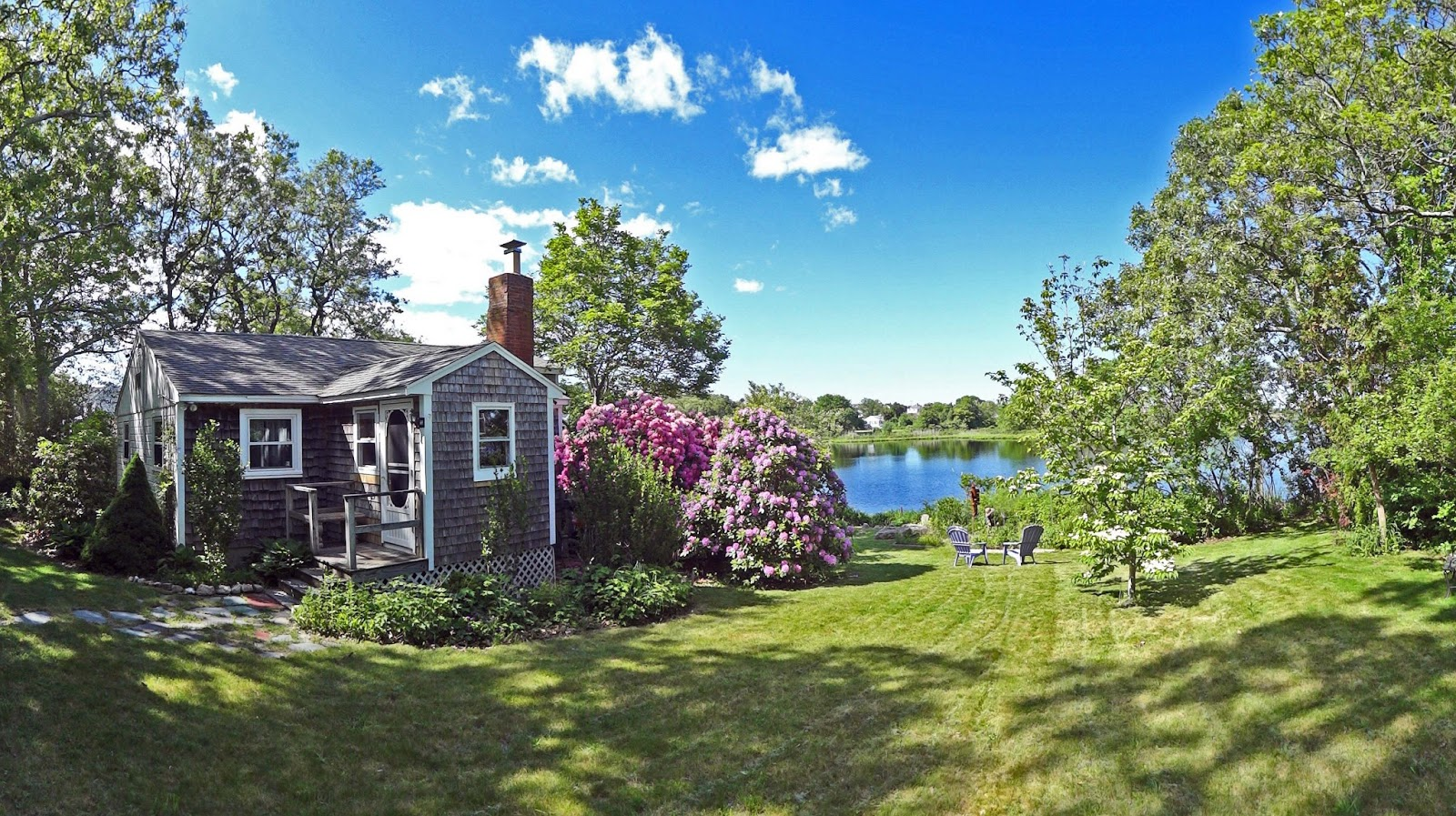 joe u0026 39 s retirement blog  a new england cottage in spring  bartlett pond  manomet  plymouth