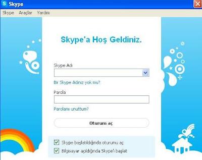 Skype Kaydol