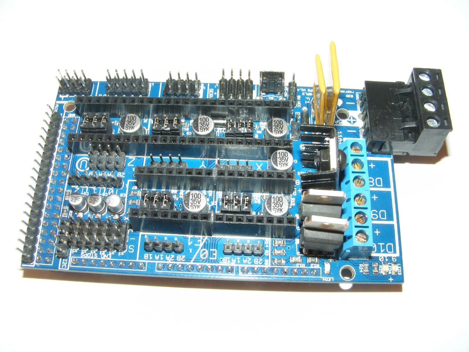 ALF 3D Printer: RAMPS 1.4 board