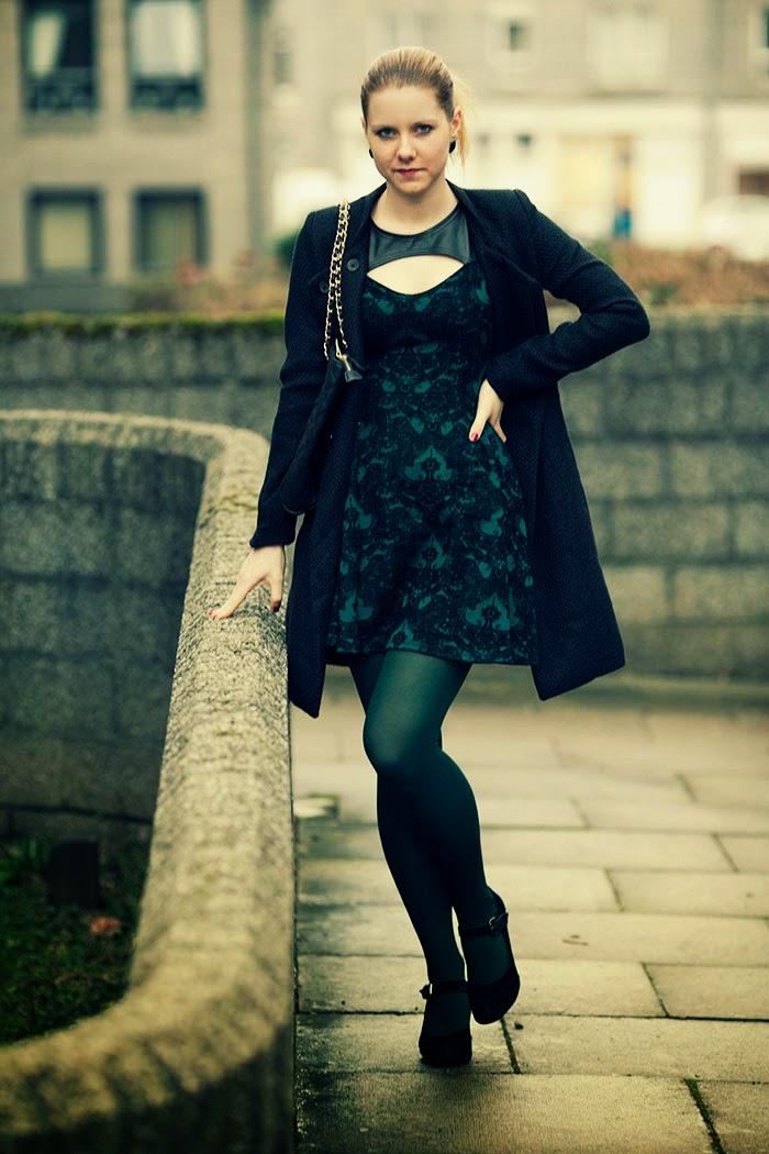 style without limits, módní blogerka, jak nosit barevné silonky