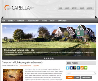 Carella-Blogger-Template