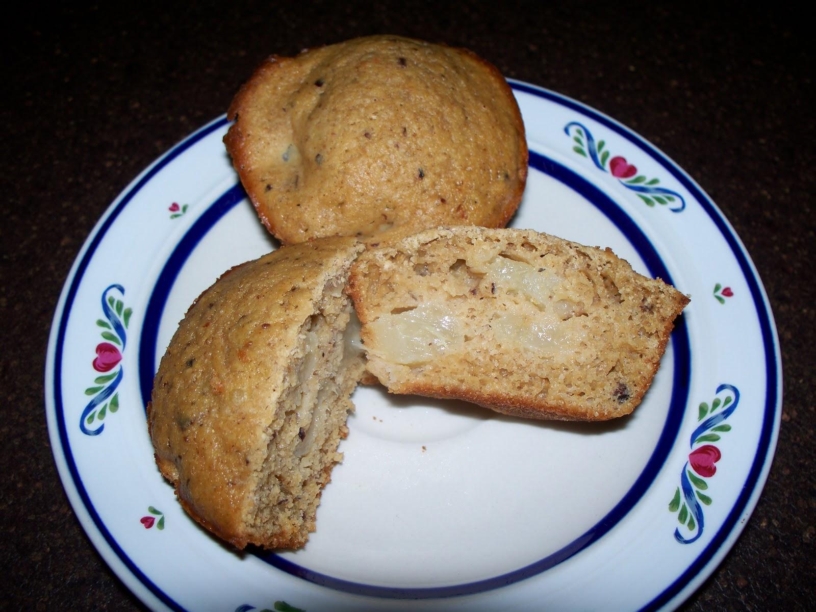 Jabez Farm: Hazelnut Pear Muffins