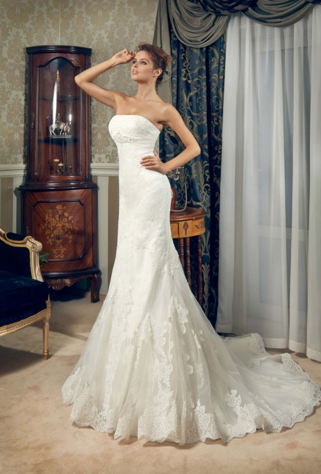 Grandiosos vestidos de novias | Colección Daria Karlozi