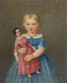 19th c. girl with Doll