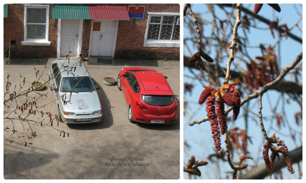 Машина красная