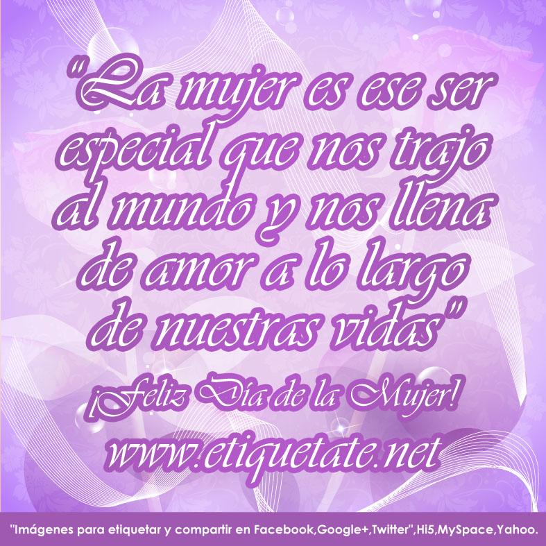 Frases Para El Da De La Mujer Facebook Gratis | Tattoo ...