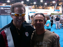Bill with Australian former multiple ITU World Champion Greg Welch