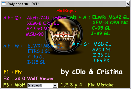 Wolfteam Yeni Wolf32 v11.08.24 – Wolfteam Trainer Envanter Hile Botunu indir – Download