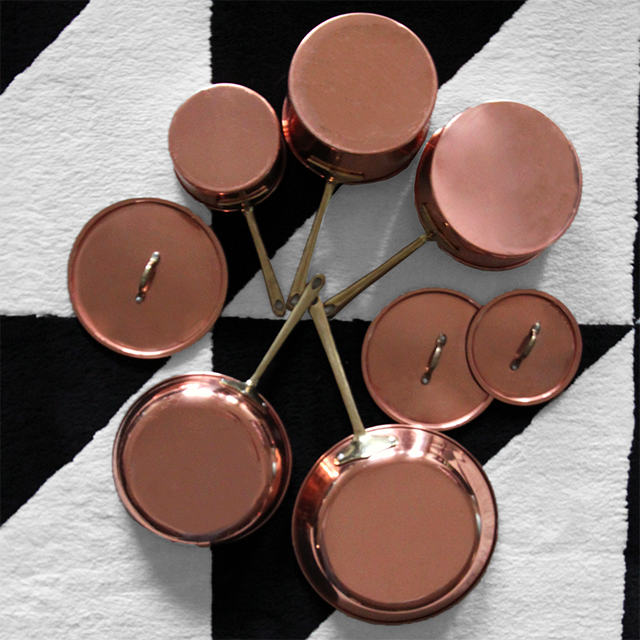 #thriftscorethursday Week 95 Copper Cookware | www.blackandwhiteobsession.com