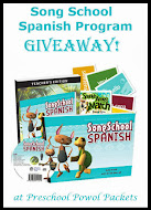 Song School Spanish GIVEAWAY!!