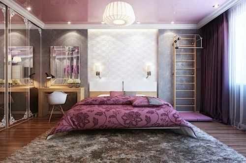 kamar tidur utama mewah