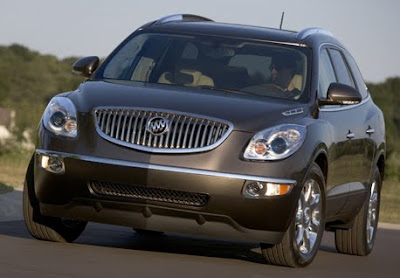 Buick Enclave front side