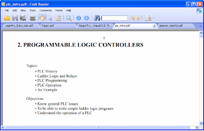 screen of Foxit Reader