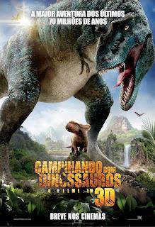 Filme Poster Caminhando com Dinossauros TS XviD & RMVB Dublado