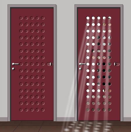 Puertas originales ideas para decorar dise ar y mejorar - Puertas originales ...