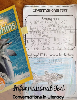 Informational Text Features Freebie