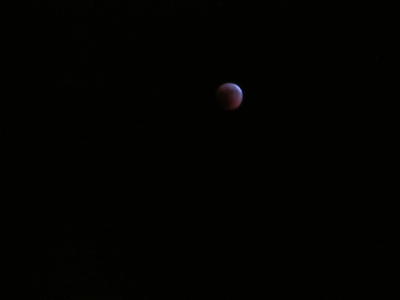 Lunar Eclipse over Israel June 15-2011